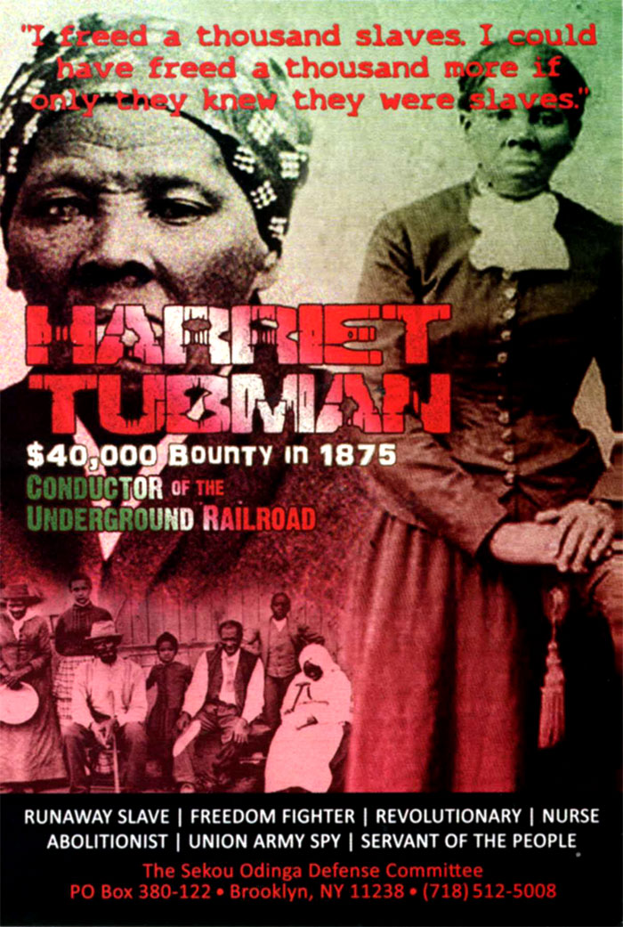 Harriet Tubman Bounty